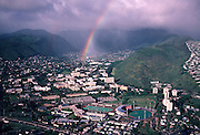 Rainbow, Manoa Valley, Oahu, Hawaii<br />