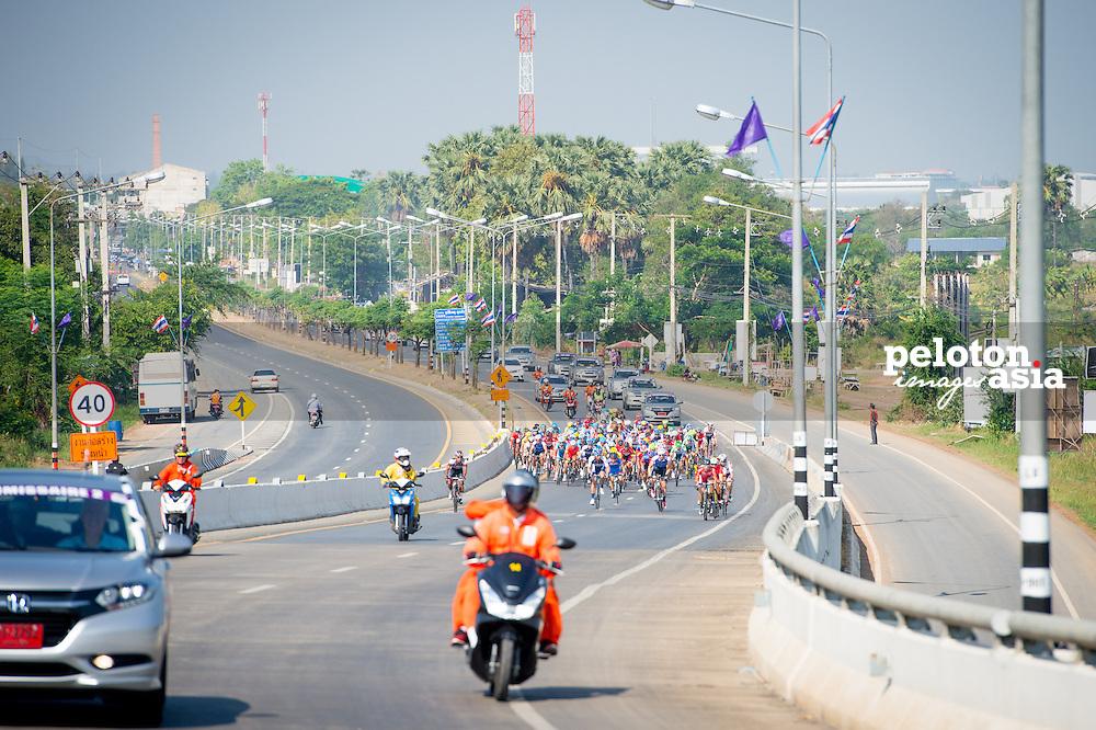 Tour of Thailand 2015/ Stage1/ Nakhon Ratchasima - Buri Ram/