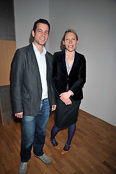 MATTHEW SLOTOVER and EMILY KING at a party to celebrate the opening of the new Whitechapel Gallery, 77-82 Whitechapel High Street, London E1 on 2nd April 2009.