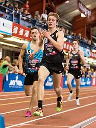 New Balance High School National Indoor Track & Field Championships: boys 2-mile final lap, Andrew Hunter, VA