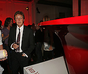 Paul McCartney, Established and Sons celebrate the launch of a Red Production 'Aqua Table' by Zaha Hadid. ( Profits from Sales will go to Red Campaign HIV treatment in Africa) Grosvenor Place. London. 23 September 2006.  ONE TIME USE ONLY - DO NOT ARCHIVE  © Copyright Photograph by Dafydd Jones 66 Stockwell Park Rd. London SW9 0DA Tel 020 7733 0108 www.dafjones.com
