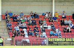 Bristol Rovers fans - Mandatory by-line: Neil Brookman/JMP - 25/07/2015 - SPORT - FOOTBALL - Cheltenham Town,England - Whaddon Road - Cheltenham Town v Bristol Rovers - Pre-Season Friendly