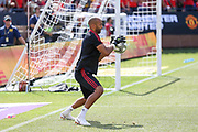 Manchester United goalkeeper Lee Grant during the Manchester United and Liverpool International Champions Cup match at the Michigan Stadium, Ann Arbor, United States on 28 July 2018.