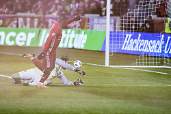 March 10, 2018 - Harrison, New Jersey, United States - Carlos Rivas (11) of Red Bulls scores goal during regular MLS game against Portland Timbers at Red Bull Arena Red Bulls won 4 - 0  (Credit Image: © Lev Radin/Pacific Press via ZUMA Wire)