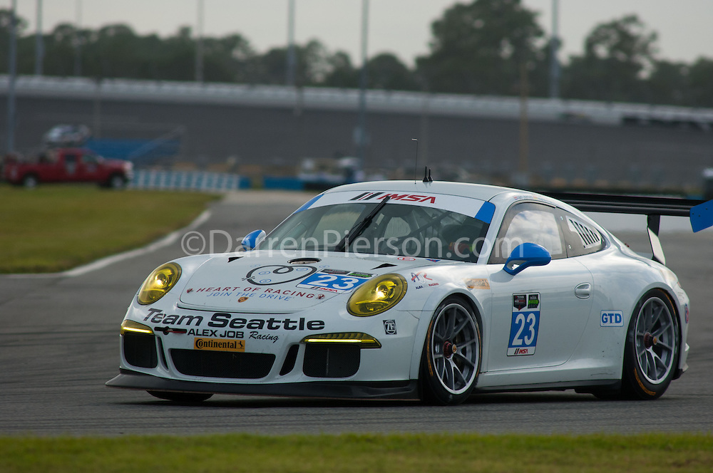 #23 Team Seattle/Alex Job Porsche GT America: Ian James, Mario Farnbacher