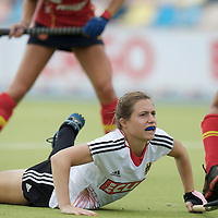 MONCHENGLADBACH - Junior World Cup<br /> Pool D: Germany - Spain<br /> photo: Lea Stoeckel.<br /> COPYRIGHT  FFU PRESS AGENCY/ FRANK UIJLENBROEK