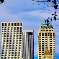 Downtown Skyline and Phitower Building, Oklahoma<br />