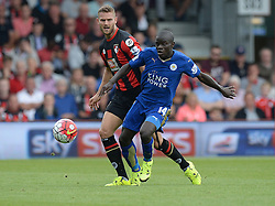 - Mandatory byline: Alex James/JMP - 07966386802 - 29/08/2015 - FOOTBALL - Dean Court -Bournemouth,England - AFC Bournemouth v Leicester City - Barclays Premier League