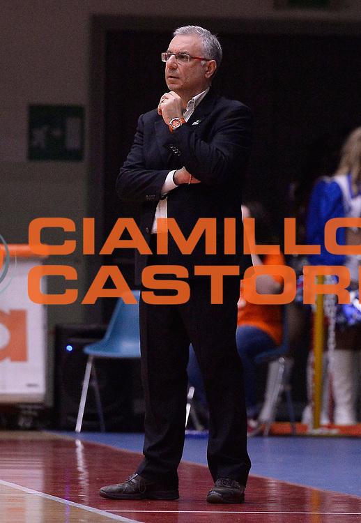 DESCRIZIONE : Campionato 2014/15 Famila Wuber Schio - Passalacqua Ragusa<br /> GIOCATORE : Molino Antonino<br /> CATEGORIA : allenatore coach<br /> SQUADRA : Passalacqua Ragusa<br /> EVENTO : LegaBasket Serie A Femminile 2014/2015<br /> GARA :Famila Wuber Schio - Passalacqua Ragusa<br /> DATA : 24/04/2015<br /> SPORT : Pallacanestro <br /> AUTORE : Agenzia Ciamillo-Castoria/R.Morgano<br /> Predefinita :