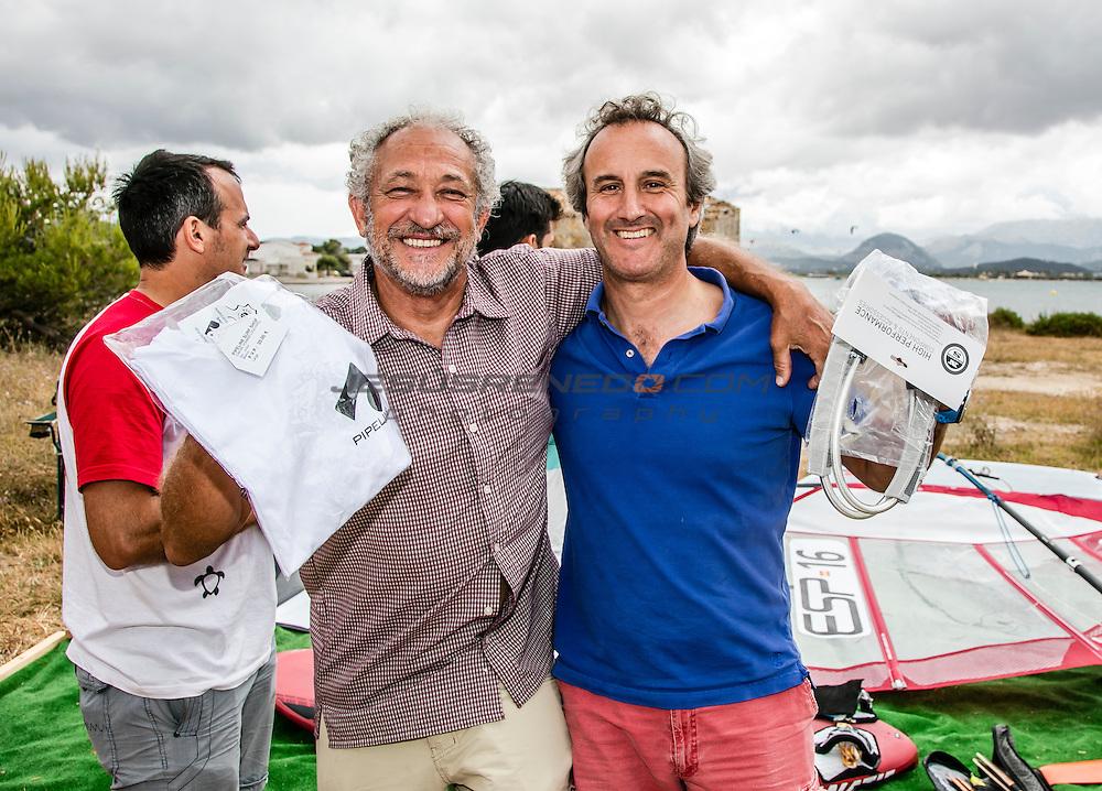 Slalom clinic in Mallorca, with Pablo Ania y Alejandro Alcazar<br /> &copy;jesusrenedo.com