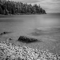 black and white Canada, Bruce Peninsula