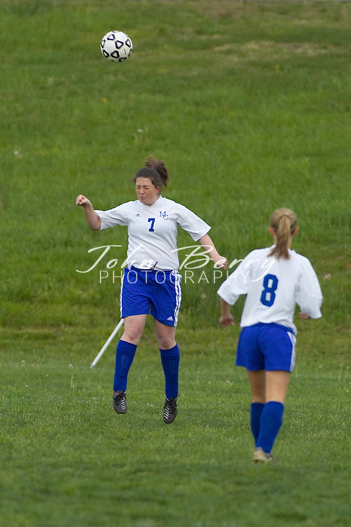 MCHS Varsity Girls Soccer vs Clarke, 0-0, on Tuesday, May 3, 2005