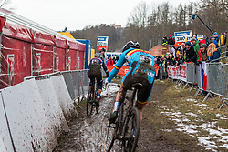Pauline Perrand Prevot (FRA), Women Elite, Cyclo-cross World Championships Tabor, Czech Republic, 31 January 2015, Photo by Pim Nijland / PelotonPhotos.com