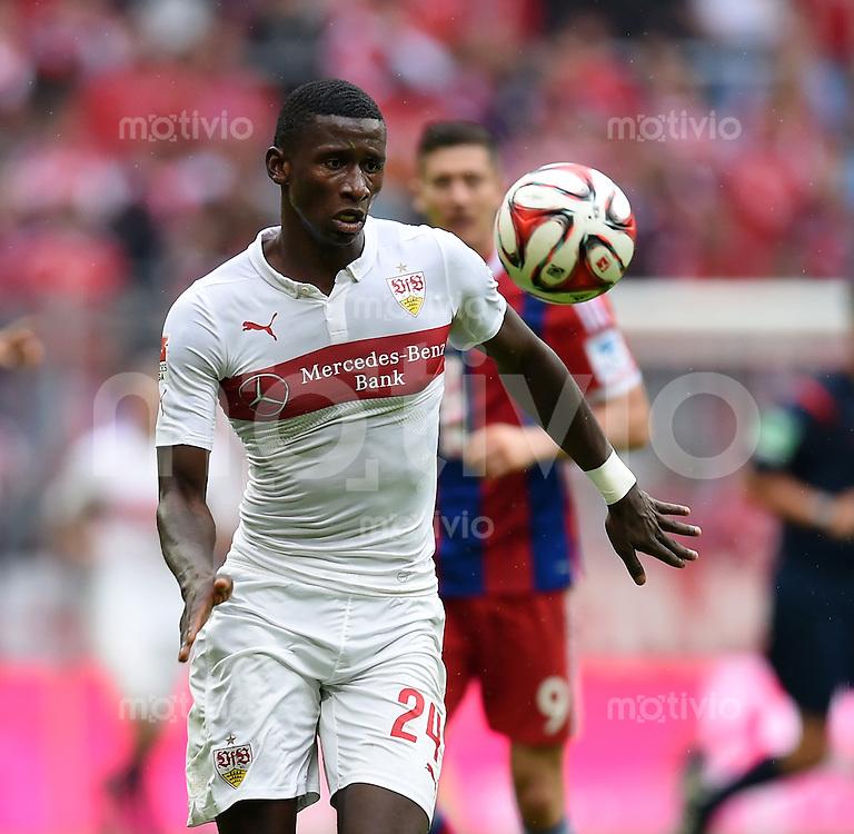 Fussball  1. Bundesliga  Saison 2014/2015   3. SPIELTAG FC Bayern Muenchen - VfB Stuttgart       13.09.2014 Antonio Ruediger (VfB Stuttgart) am Ball