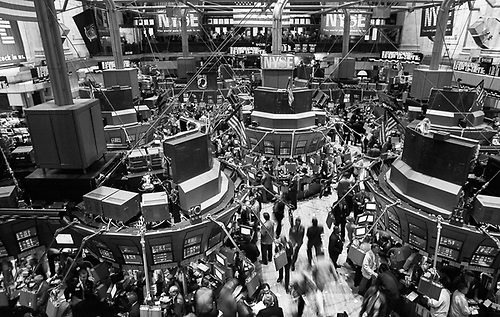 SEPT 11 2000   Trading Floor Of The New York Stock Exchange   New