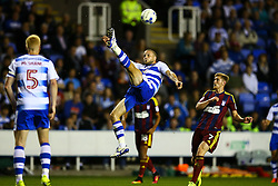 Joey van den Berg of Reading clears the ball with an overhead kick - Mandatory by-line: Jason Brown/JMP - 09/09/2016 - FOOTBALL - Madejski Stadium - Reading, England - Reading v Ipswich Town - Sky Bet Championship