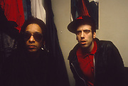 BAD - Don Letts with Mick Jones