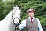 20/08/2015 Tomas Grimes Ballinrobe Mayo with Copperbeach Pixie at the Connemara Pony Show 2015 in Clifden Co. Galway. Photo:Andrew Downes