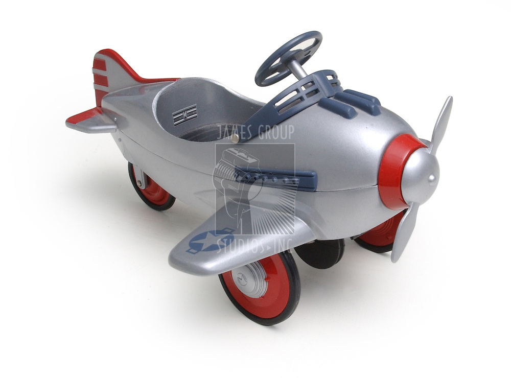 A Toy Plane isolated on white