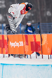 14-02-2018 KOR: Olympic Games day 5, PyeongChang<br /> Men Half Pipe final at Phoenix Park / Shaun White of the United States