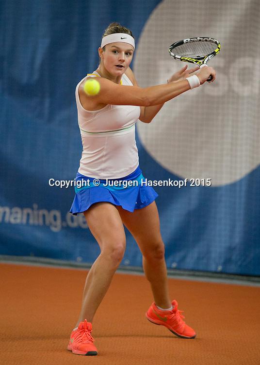 Anna Zaja  (GER)<br /> <br /> Tennis - Ismaning Open 2015 - ITF 10.000 -  TC Ismaning - Ismaning - Bavaria - Germany - 29 October 2015. <br /> &copy; Juergen Hasenkopf