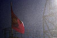 Photo: Olly Greenwood.<br />West Ham United v Brighton & Hove Albion. The FA Cup. 06/01/2007. Heavey Rain
