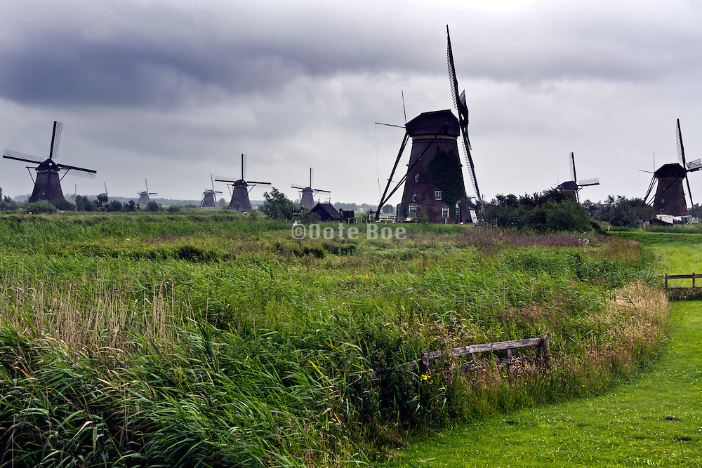 windmills at Kinderdijk Netherlands