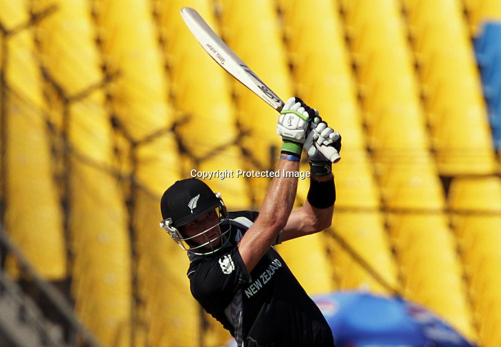 Martin Guptill. ICC Cricket World Cup 2011. New Zealand Black Caps v Zimbabwe. Sardar Patel Stadium. March 4, 2011. Ahmedabad, India. Photo: photosport.co.nz
