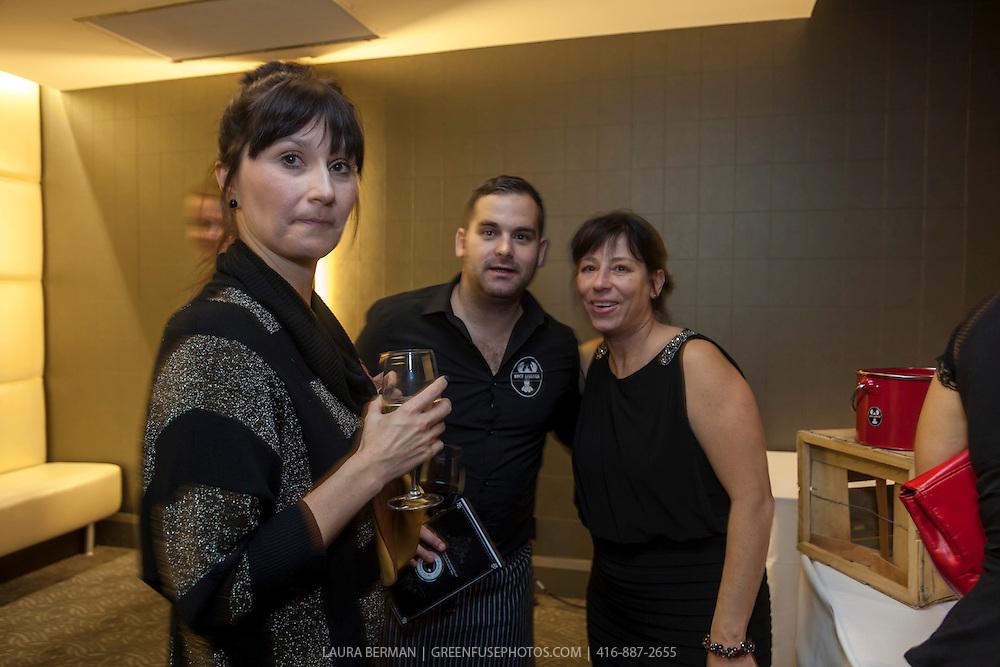 The reception at the Taste Canada Awards Gala, November 5, 2012 at the Arcadian Court, Toronto