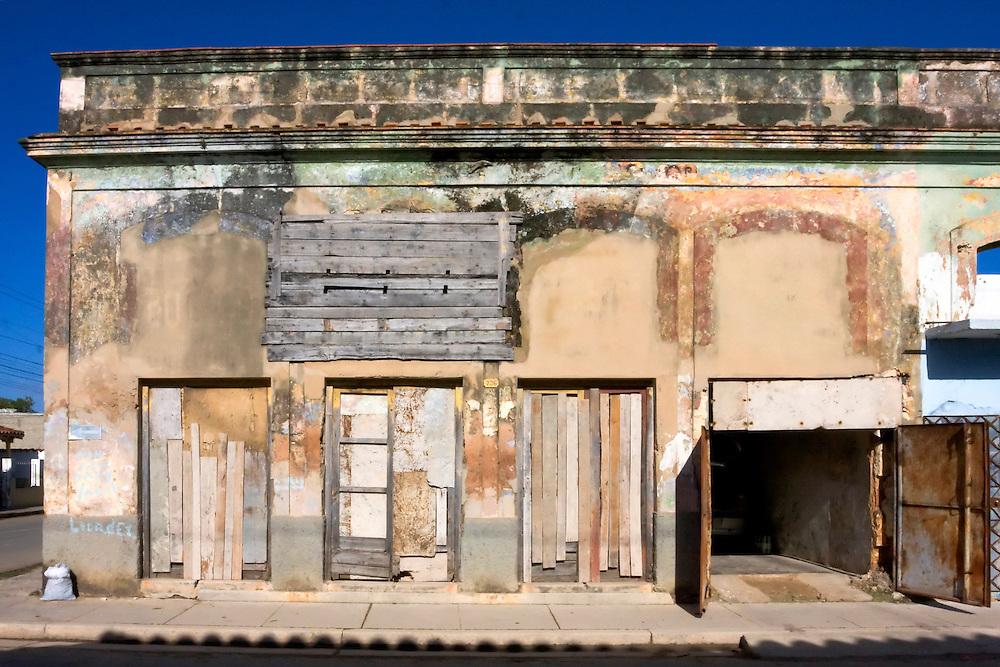 Old building in Cardenas, Matanzas, Cuba.