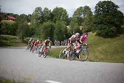 Camilla Mollebro Pedersen (DEN) rides mid-pack during the 97,1 km second stage of the 2016 Ladies' Tour of Norway women's road cycling race on August 13, 2016 between Mysen and Sarpsborg, Norway. (Photo by Balint Hamvas/Velofocus)
