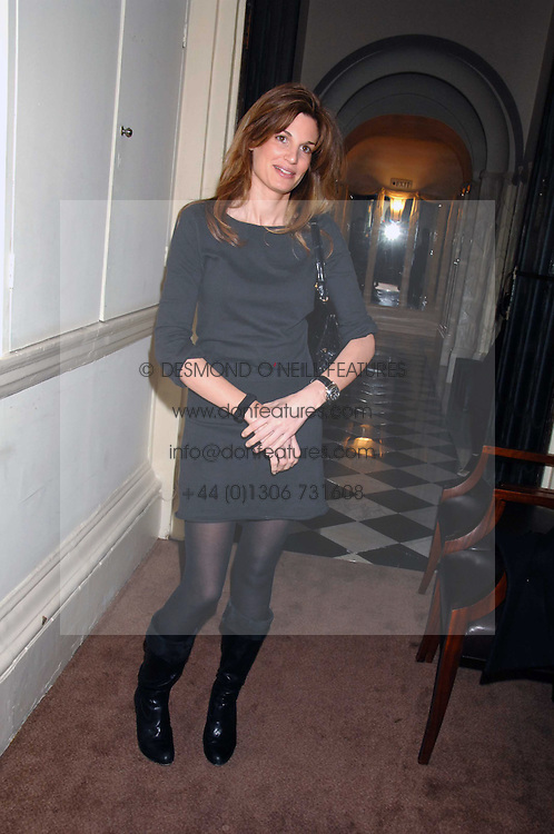 JEMIMA KHAN at a party to celebrate the publication of Top Tips For Girls by Kate Reardon held at Claridge's, Brook Street, London on 28th January 2008.<br /><br />NON EXCLUSIVE - WORLD RIGHTS