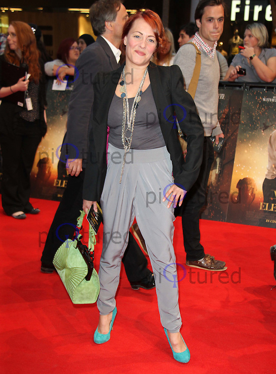 Sarah Cawood Water for Elephants UK Premiere, The Vue, Westfield, London, UK, 03 May 2011:  Contact: Rich@Piqtured.com +44(0)7941 079620 (Picture by Richard Goldschmidt)