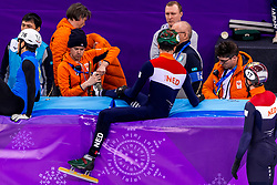22-02-2018 KOR: Olympic Games day 13, PyeongChang<br /> Short Track Speedskating / Dylan Hoogerwerf of the Netherlands