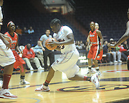 Ole Miss's LaTosha Laws (23) vs. South Alabama in women's college basketball in Oxford, Miss. on Friday, November 18, 2011.