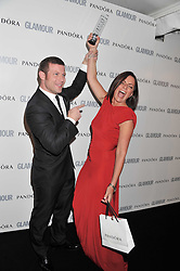 DAVINA McCALL and DERMOT O'LEARY at the Glamour Women of The Year Awards 2011 held in Berkeley Square, London W1 on 7th June 2011.