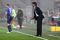 Milan-Lazio - Serie A 22a giornata - Nella foto : Simone Inzaghi  allenatore della  Lazio