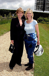 "Left to right, the COUNTESS OF MARCH and NETTE MASON at a luncheon hosted by Cartier at the 2004 Goodwood Festival of Speed on 27th June 2004.  Cartier sponsored the ""Style Et Luxe' for vintage cars on the final day of this annual event at Goodwood House, West Sussex."