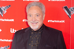 © Licensed to London News Pictures. 03/01/2019. London, UK. SIR TOM JONES attends The Voice UK 2019 ITV press launch. Photo credit: Ray Tang/LNP