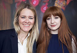 Girls Aloud singer Nicola Roberts joined Scottish DJ Edith Bowman to judge the fashion prizes at Ladies Day at Musselburgh Races pic copyright Terry Murden @edinburghelitemedia
