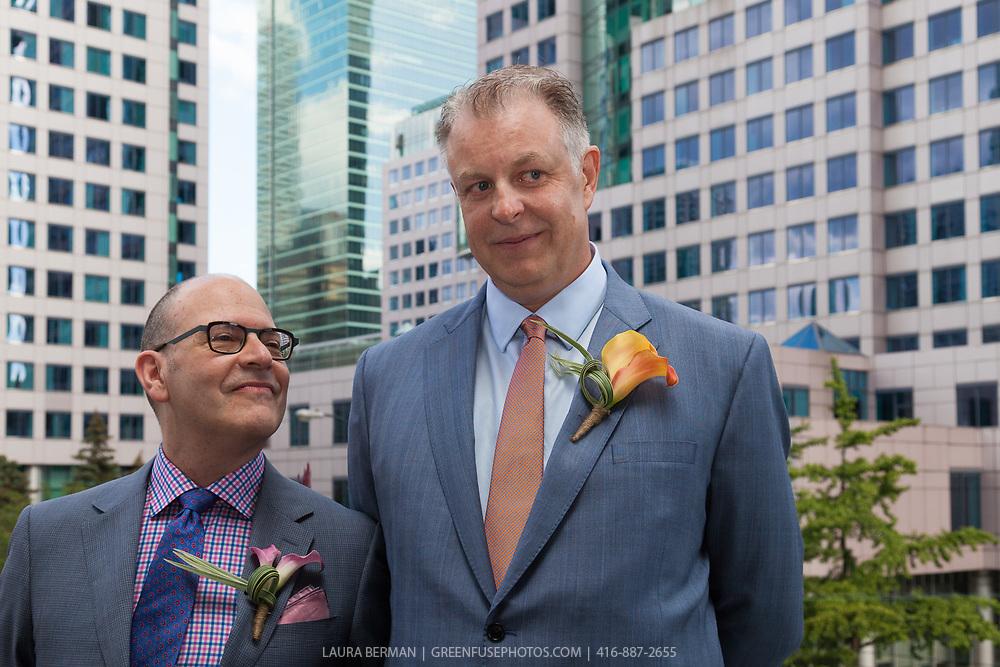 Stephen Quinney and Bernard Kwasniewski's Wedding