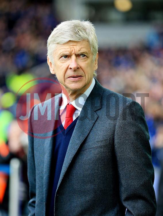 Arsenal manager Arsene Wenger  - Mandatory byline: Matt McNulty/JMP - 19/03/2016 - FOOTBALL - Goodison Park - Liverpool, England - Everton v Arsenal - Barclays Premier League