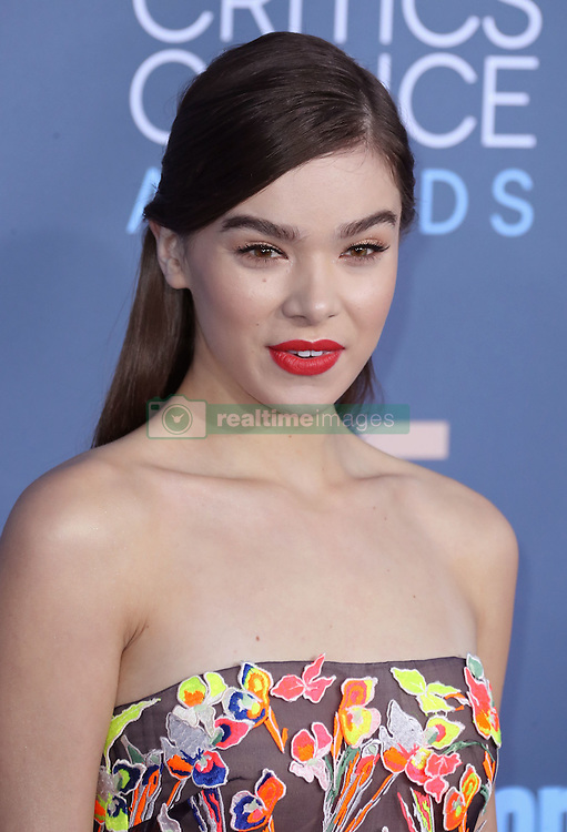 Hailee Steinfeld, The 22nd Annual Critics Choice Awards at Barker Hangar (Santa Monica, CA.)