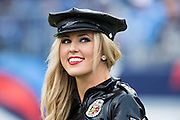 NASHVILLE, TN - OCTOBER 25:  Cheerleader of the Tennessee Titans in her Halloween costume during a game against the Atlanta Falcons at Nissan Stadium on October 25, 2015 in Nashville, Tennessee.  The Falcons defeated the Titans 10-7.  (Photo by Wesley Hitt/Getty Images) *** Local Caption ***