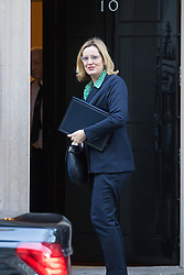 Downing Street, London, January 17th 2017. Home Secretary Amber Rudd arrives back at 10 Downing Street for a second session of the cabinet meeting following British Prime Minister Theresa May's 'Clean Brexit' speech.
