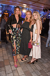 Poppy Fordham, Lady Amelia Windsor and Anais Gallagher at the Royal Academy Of Arts Summer Exhibition Preview Party 2018 held at The Royal Academy, Burlington House, Piccadilly, London, England. 06 June 2018.