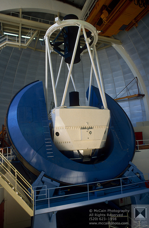 4-meter Mayall Telescope, Kitt Peak National Astronomical Observatory.©1989 Edward McCain. All rights reserved. McCain Photography, McCain Creative, Inc.