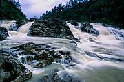 "Maya Mountains: Pine Ridge Forest Reserve: ""Five Sisters"" Falls."