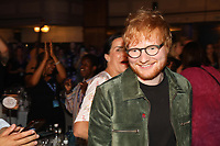 Ed Sheeran at his table during the O2 Silver Clef Awards 2019, Grosvenor House, London, UK, Friday 05 July 2019<br /> Photo JM Enternational