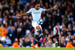 Raheem Sterling of Manchester City - Mandatory by-line: Robbie Stephenson/JMP - 19/09/2018 - FOOTBALL - Etihad Stadium - Manchester, England - Manchester City v Lyon - UEFA Champions League Group F